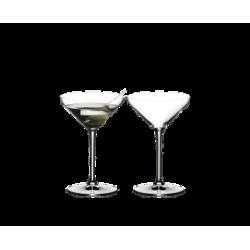 Lot de 2 verres Martini -...